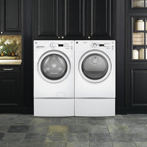 GE 7.0 Cu. Ft. Front Load Electric Dryer White - GFD40ESMMWW