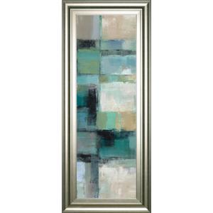 "Classy Art - ""Island Hues Panel 2"" By Silvia Vassileva Framed Print Wall Art"