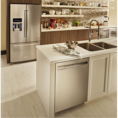 46 DBA Dishwasher with ProWash , Front Control - Stainless Steel with PrintShield™ Finish