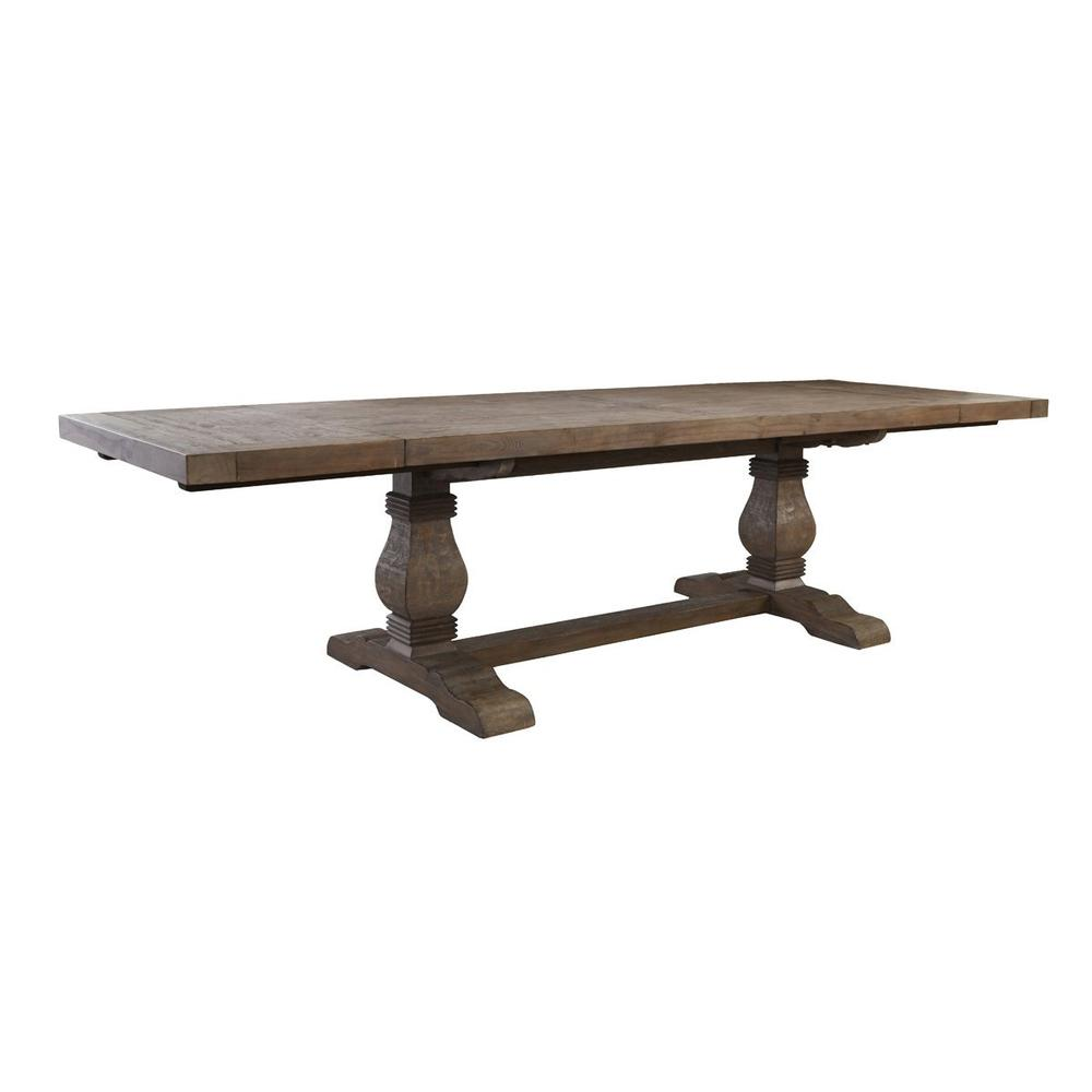 See Details - Caleb 114\u0022 Ext Dining Table Desert Gray