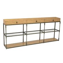 Leeward Triple Console Table
