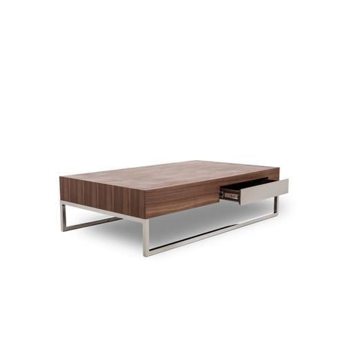 Modrest Agate - Modern Walnut Coffee Table