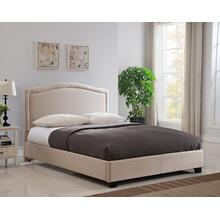 ABB66MT Abbotsford Platform Bed - King, Taupe
