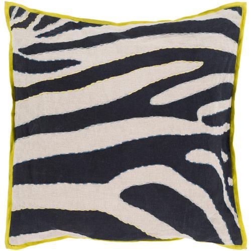 """Surya - Zebra LD-042 18""""H x 18""""W"""