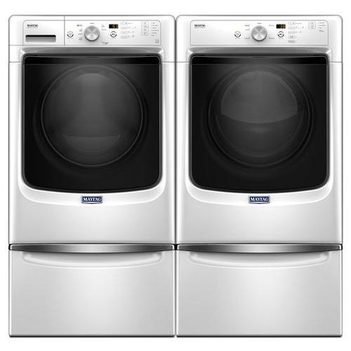 "Maytag® MED3500FW   Large Capacity Dryer with Wrinkle Prevent Option and PowerDry System "" 7.4 cu. ft. - White"