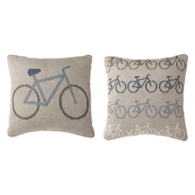 See Details - Mini Bike Knit Pillow (4 pc. ppk.)