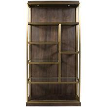 Luminary Bookcase Left Facing W589BL