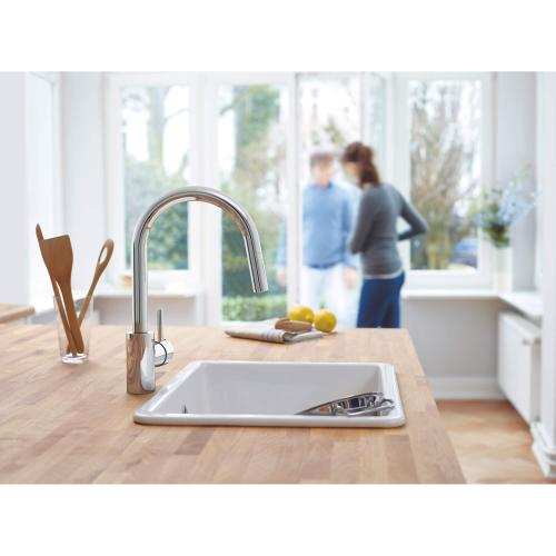 Product Image - Concetto Single-handle Pull Down Kitchen Faucet Dual Spray 1.5 Gpm