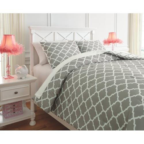 Media 3-piece Full Comforter Set