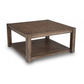 Boulder Square Coffee Table with Casters