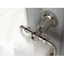 Toilet Paper Holder - Nickel Silver
