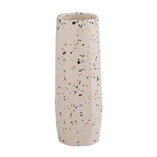 Tov Furniture - Terrazzo White Vase - Medium Skinny