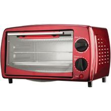 4-Slice Toaster Oven and Broiler (Red)