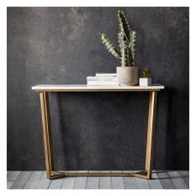 GA Cleo Console Table Marble