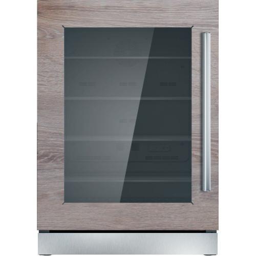 Freedom® Glass Door Refrigeration 24'' Professional Stainless steel T24UR900LP