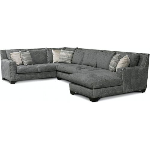 See Details - 7K00N-Sect Luckenbach Sectional with Nails