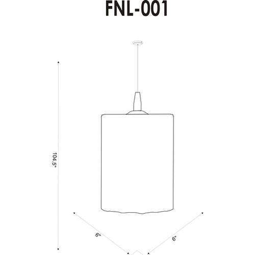 "Surya - Fenelon FNL-001 8""H x 6""W x 6""D"
