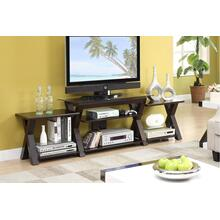 See Details - TV Stand W. Side Shelf