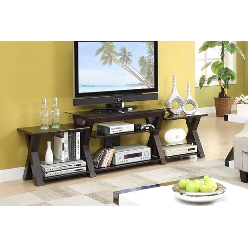 Gallery - TV Stand W. Side Shelf