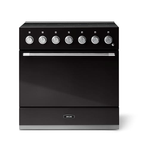 "AGA - Aga Mercury 36"" Induction Model, Gloss Black"