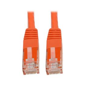 Cat6 Gigabit Molded (UTP) Ethernet Cable (RJ45 M/M), Orange, 25 ft.