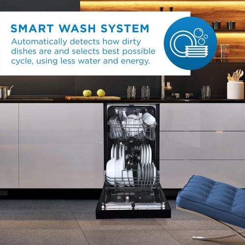 Danby 18 Stainless Built-In Dishwasher