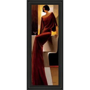 """""""Poise"""" By Keith Mallet Framed Print Wall Art"""