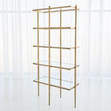 Laforge Etagere-Antique Gold