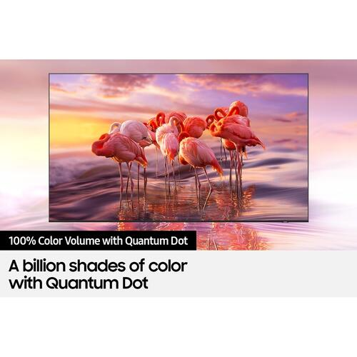 "Samsung - 75"" Q60AB QLED 4K Smart TV (2021)"