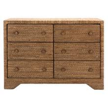 See Details - Bellrose Woven Rope Dresser - Natural