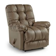 BROSMER Leather Rocker Recliner