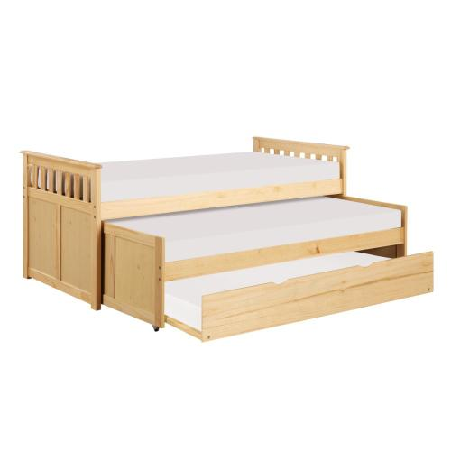 Twin/Twin Bed with Twin Trundle