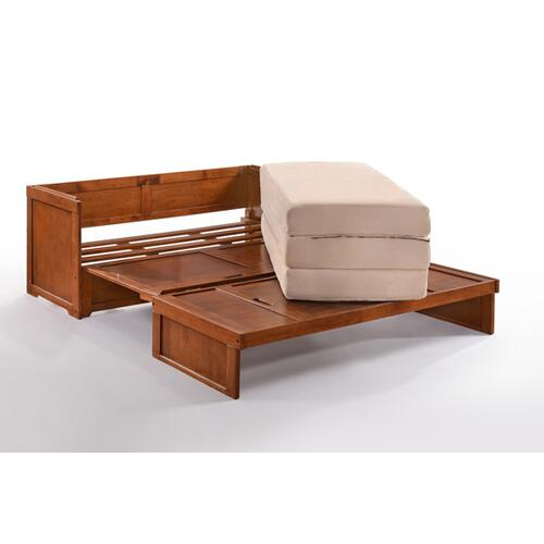 Murphy Cube Cabinet Bed in Stonewash Finish