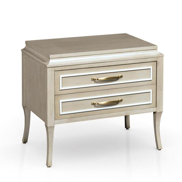 """See Details - Haley 2-Drawer Nightstand, Extra Wide, Standard - 24 """"w x 18 """"d x 27 """"h"""