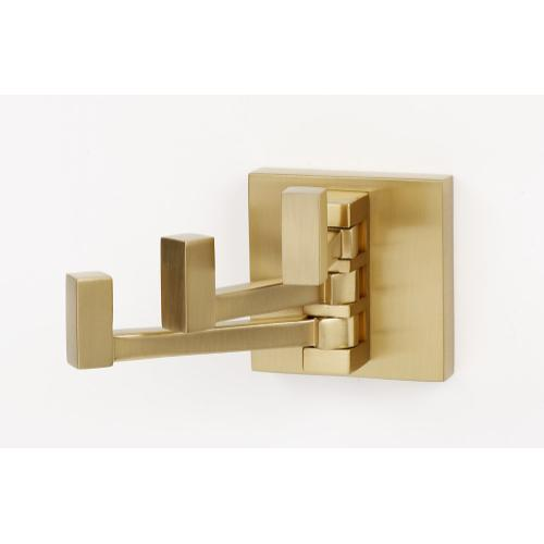 Contemporary II Robe Hook A8485 - Satin Brass