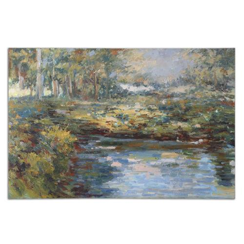 Uttermost - Lake James Hand Painted Canvas