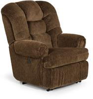 Large Power Recliner with Power Headrest and Power Lumbar