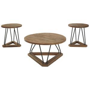 Ashley FurnitureSIGNATURE DESIGN BY ASHLEYFrielone Table (set of 3)