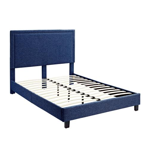 Erica Upholstered Queen Platform Bed