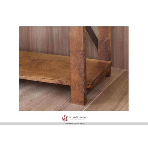 Artisan Home Furniture - Bookcase w/5 fixed wood shelves