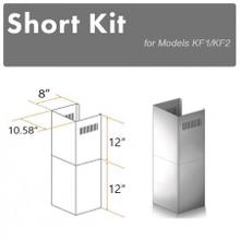 See Details - ZLINE 2-12 in. Short Chimney Pieces for 7.5 ft. to 8 ft. Ceilings (SK-KF1)