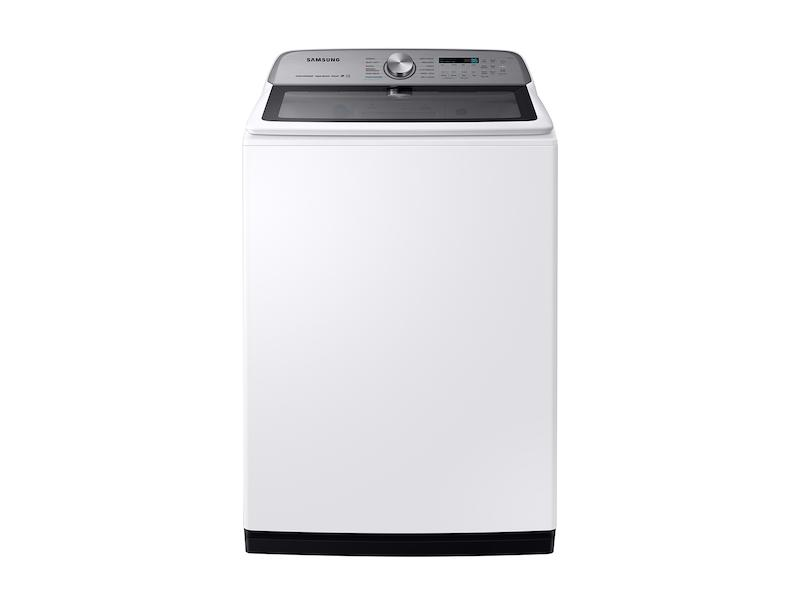 Samsung5.4 Cu. Ft. Top Load Washer With Super Speed In White