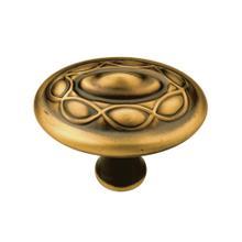 1-5/8 In. Tresse Knob - Winchester Brass
