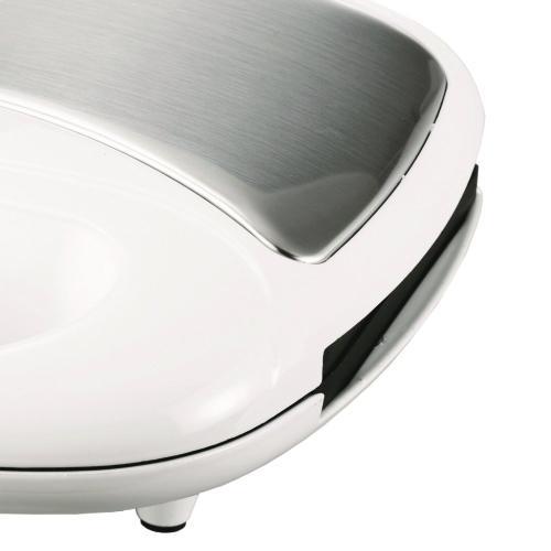 Nonstick Dual Waffle Maker (White)