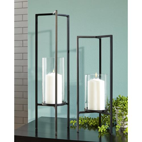 Signature Design By Ashley - Ginette Candle Holder (set of 2)