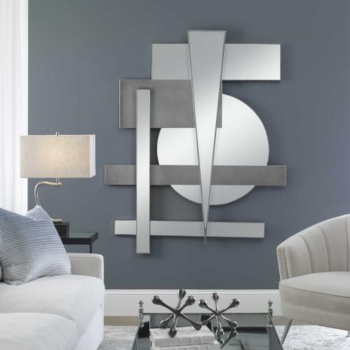 Uttermost - Wedge Mirrored Wall Decor