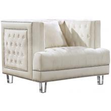 "See Details - Lucas Velvet Chair - 41"" W x 35.5"" D x 31.5"" H"