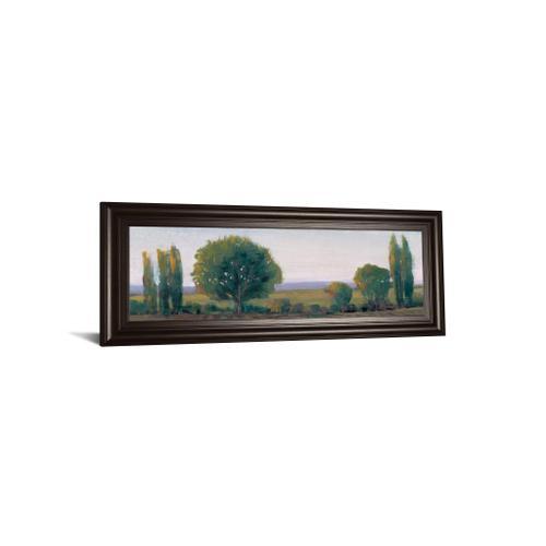 """Panoramic Treeline I"" By Tim Otoole Framed Print Wall Art"
