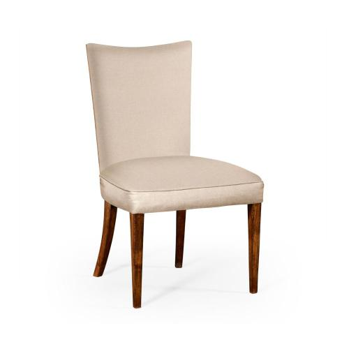 Biedermeier style walnut dining side chair (MAZO)