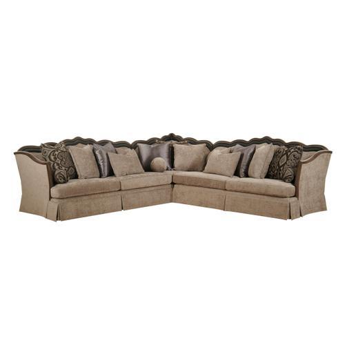 A.R.T. Furniture - Alyssa Espresso 3 piece Sectional